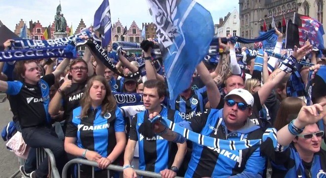 Brugges, praticamente o campeão da Bélgica