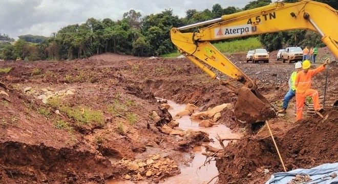 Local onde vítima foi encontrada fica a 5,5 km de distância da barragem