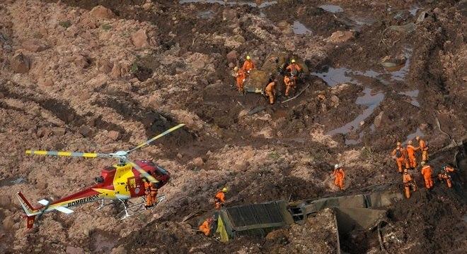Subiu para 34 o número de vítimas em Brumadinho (MG)