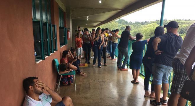 Lista de desaparecidos foi divulgada com atraso de mais de uma hora em Brumadinho