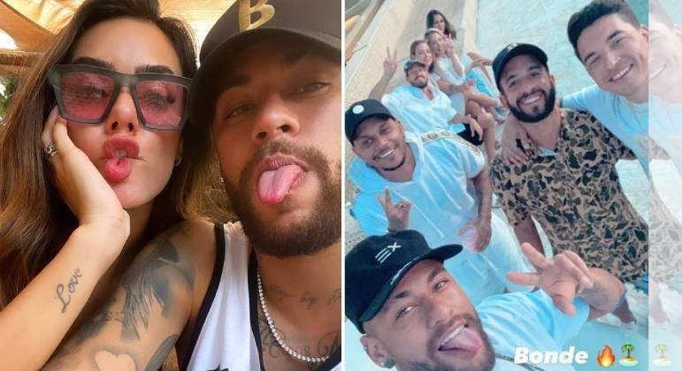 Bruna Biancardi posta foto com Neymar e aumenta boatos de romance