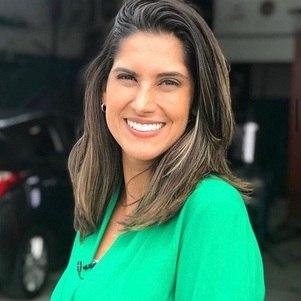 Bruna Dealtry, da equipe de esportes da Record