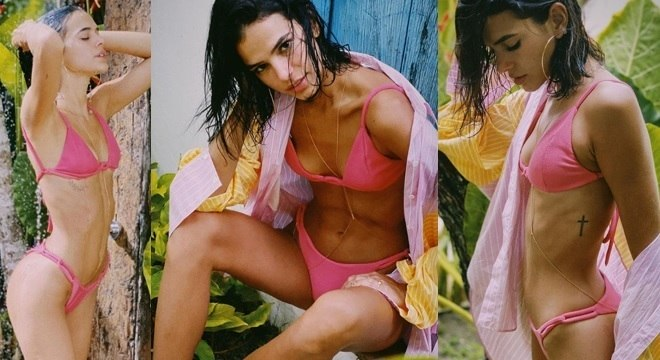 Bruna Marquezine apostou no acessório que está virando febre entre as famosas.