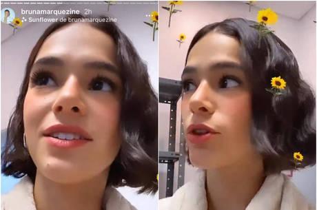 Bruna Marquezine rebateu críticas de fãs