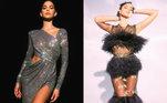 Quem assistiu ao MTV Miau, premiação da MTV Brasil, na última quinta-feira (24), pôde ver um verdadeiro desfile de moda estrelado por Bruna Marquezine. A atriz, que apresentou o evento ao lado de Manu Gavassi, exibiu nada menos que sete looks diferentes — e ousados — durante a noite