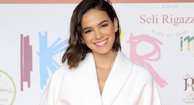 Bruna Marquezine em evento do Instituo Neymar