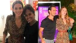 Bruna Marquezine e Marina Ruy Barbosa usam vestidos iguais de quase R$ 3 mil ()