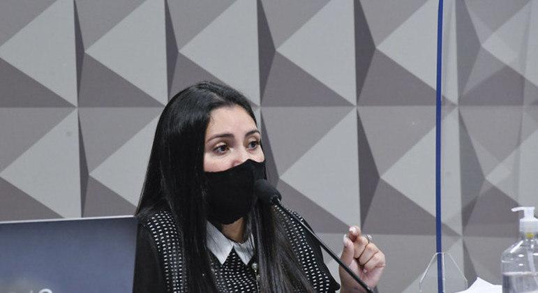 Advogada de médicos da Prevent Senior, Bruna Morato presta depoimento à CPI da Covid-19