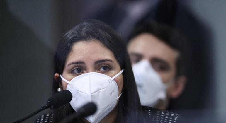 Bruna Morato foi ouvida pela CPI nesta terça-feira