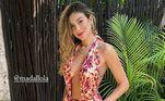Bruna também tem mostrado os looks de moda praia que levou na mala e recebeu elogios dos seguidores