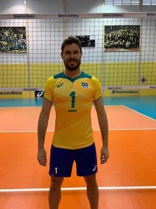 Bruninho Resende, seleção brasileira de vôlei,