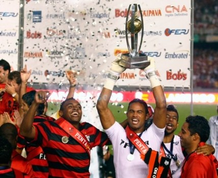 Além de muito talento, Bruno era líder e ídolo no Flamengo