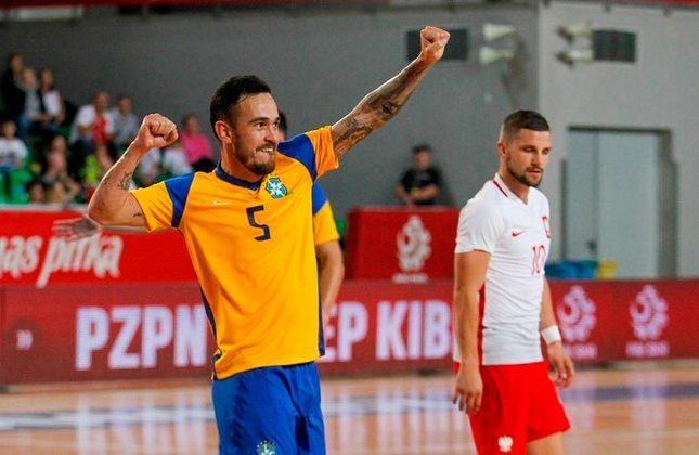 Bruno (Ala) - O jogador de 34 anos atua no Ukhta, da Rússia, está em seu primeiro Mundial e já foi eleito o melhor jogador da Copa Sul-Americana de Futsal.