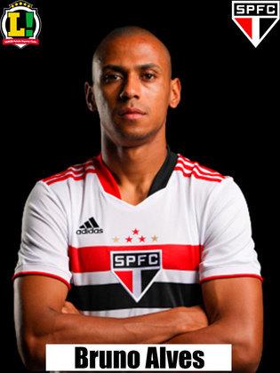 Bruno Alves - 5,0 - Entrou aos 34 minutos do segundo tempo e quase cedeu um contra-ataque perigoso para o Atlético-GO.