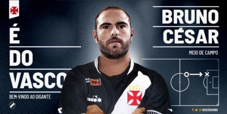 Bruno César terá grande responsabilidade no Cruz-Maltino