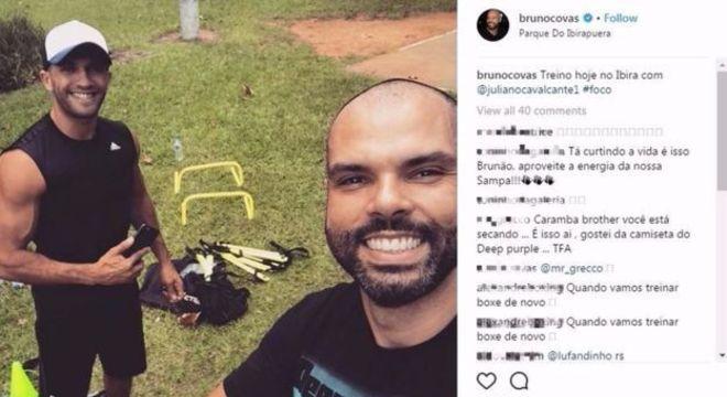 Depois de perder mais de 15 quilos, Bruno Covas continua adepto de dieta rigorosa e exercícios rotineiros