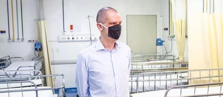 Bruno Covas visita Hospital da Capela do Socorro, em São Paulo