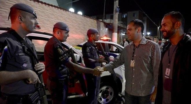 Então vice-prefeito, Covas teve atuação direta em operação de combate a baile funk