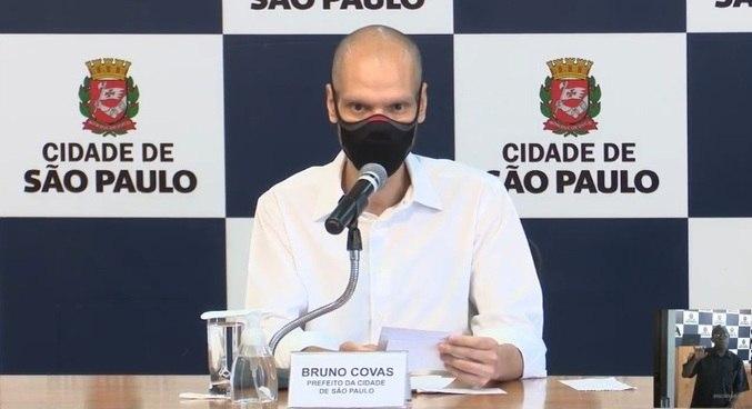 Bruno Covas (PSDB) passa por tratamento contra um câncer no Sírio-Libanês