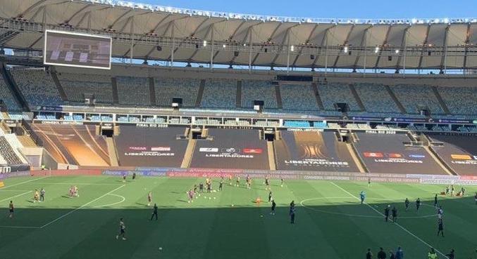 Prefeito registrou momento no estádio Maracanã