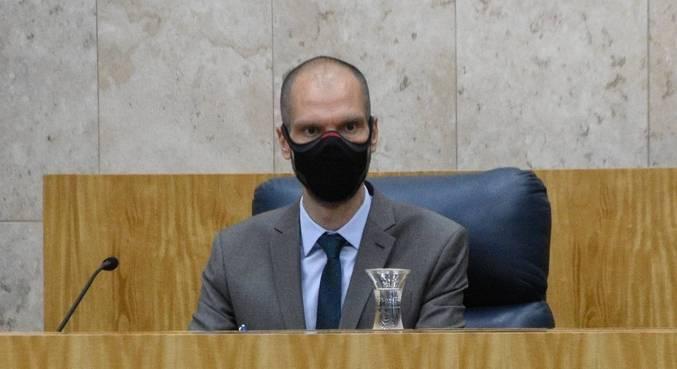 Bruno Covas toma posse como prefeito de São Paulo