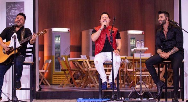 Bruno e Marrone Gusttavo LIma em live nesta sexta (4)