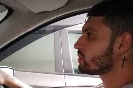 Bruno Everton é motorista de aplicativo