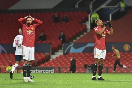 Martial perdeu chance clara de gol