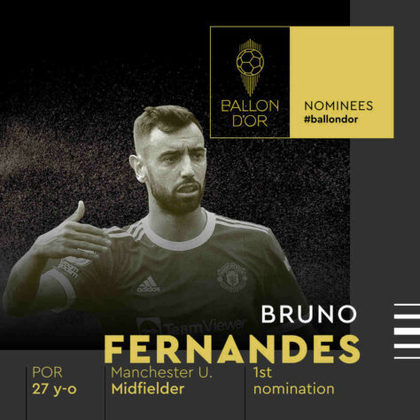 Bruno Fernandes (português) - meia - Manchester United