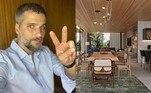 Bruno Gagliasso abriu as portas da mansão da família, emParaíba do Sul, no Rio de Janeiro. A ator usou as redes sociais nesta quarta-feira (6) para mostrar como ficou o interior do imóvel na montanha após reforma e decoração do local.