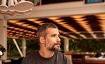 Bruno também é dono de um restaurante italiano em um shopping no Rio de Janeiro. O negócio leva o nome da família Gagliasso