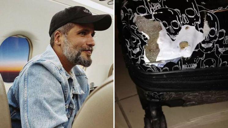 Em 2013, Bruno Gagliasso passou por um estresse durante uma viagem para Cannes. O artista, que foi até a França para o Festival de Cinema, teve a mala extraviada.
