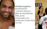 Leia mais:Goleiro Bruno sobre filho com Eliza: 'Temos que ver resultado do DNA'