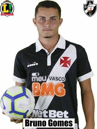 Bruno Gomes - 5,0:Ganhou algumas divididas, mas teve dificuldade na saída de bola, desperdiçando boas chances de armar contra-ataques.