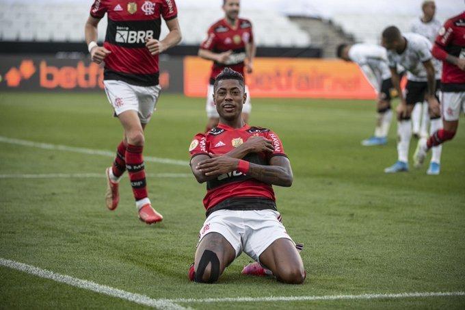 Bruno Henrique é um dos jogadores que Renato Gaúcho quer poupar contra o ABC
