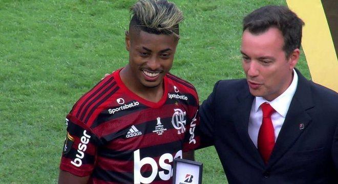 Bruno Henrique. Melhor jogador da Copa América de 2019