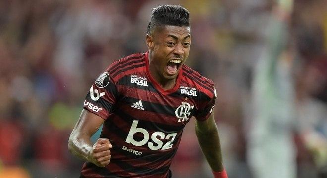 Bruno Henrique é uma das estrelas do quadrado ofensivo do Flamengo
