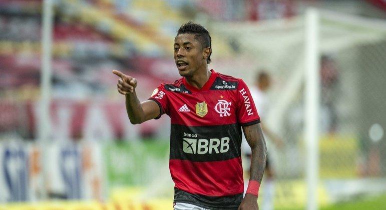 Desde a chegada de Renato Gaúcho, Bruno Henrique voltou a encantar a torcida do Flamengo