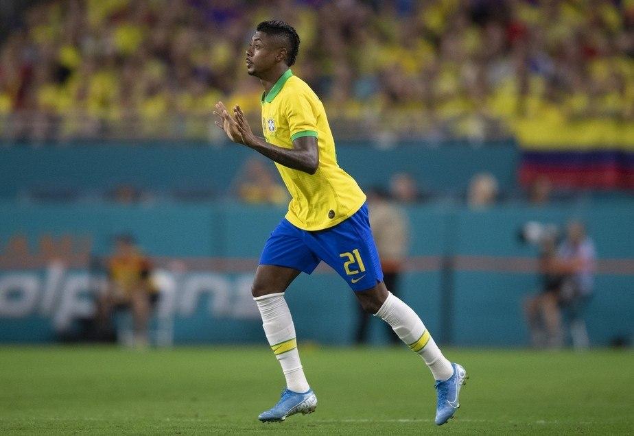 Bruno Henrique  teve pouquíssimas oportunidades reais com Tite
