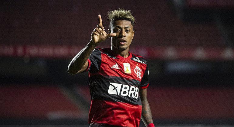 Bruno Henrique - Atacante - 30 anos - Contrato até 31/12/2023