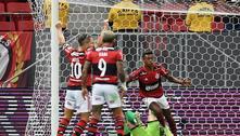 Flamengo volta a atropelar Olimpia e vai à semifinal da Libertadores