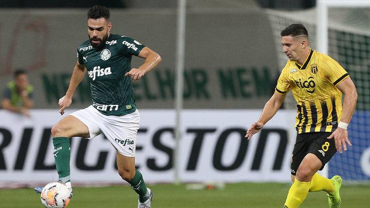Bruno Henrique: meio-campo (saiu durante a competição)