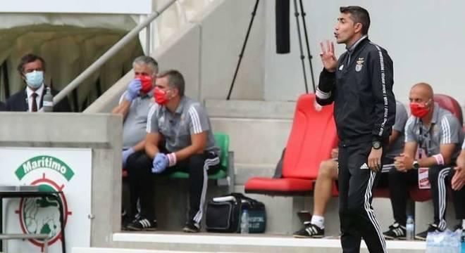 Bruno Lage: Treinador português de 44 anos. Comandou o Benfica no título do Campeonato Português de 2018/2019 e na conquista da Supercopa de Portugal de 2019.