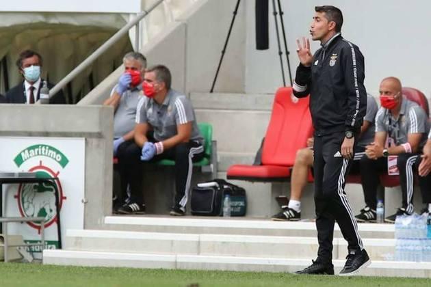 Bruno Lage: Treinador português de 44 anos. Comandou o Benfica no título do Campeonato Português de 2018/2019 e na conquista da Supercopa de Portugal de 2019
