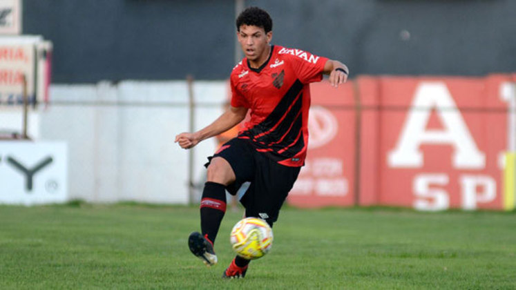 Bruno Leite: meio-campista do Athletico-PR, 20 anos, contrato até dezembro de 2023. Jogou uma partida (20 minutos)