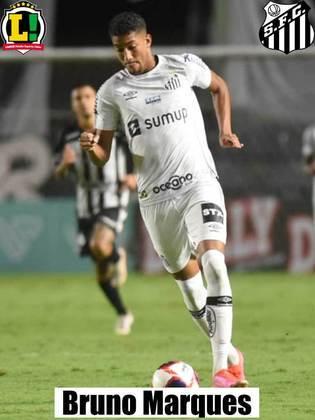 Bruno Marques – Sem nota – Pouco tempo em campo.