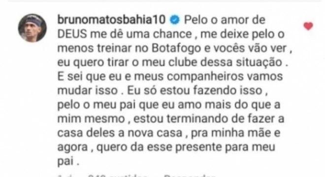 Bruno Matos Postagem