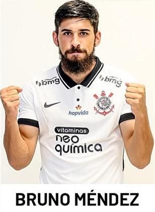 Bruno Méndez - 1 jogo como titular com Sylvinho (já deixou o clube)