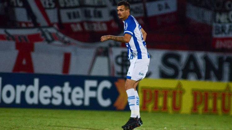 Bruno Mota: 25 anos – meio-campo – CSA – 6 gols em 8 jogos no Campeonato Alagoano