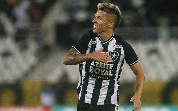 BRUNO NAZÁRIO é uma das esperanças do Alvinegro para a temporada de 2020. Ele atuou em 27 partidas e já marcou seis gols.